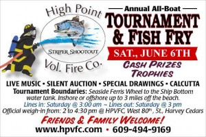 High Point Fish Tournament