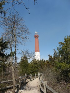 Lighthouse view from trail