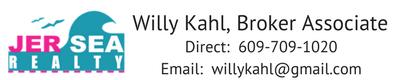 WIlly Kahl, Broker Associate